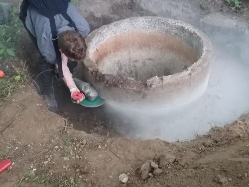 Ремонт канализационных колодцев